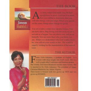 Dominion Mandate (Back) by Funke Felix Adejumo