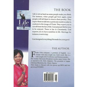 Life Made easy (back) by Funke Felix Adejumo
